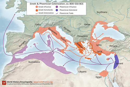 Greek and Phoenician Colonization