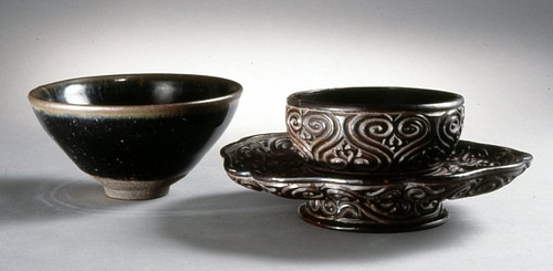 Chinese Tea Bowl & Stand