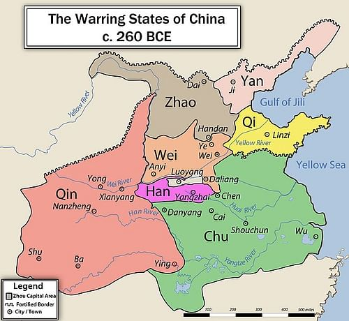 Chinese Warring States, 3rd century BCE