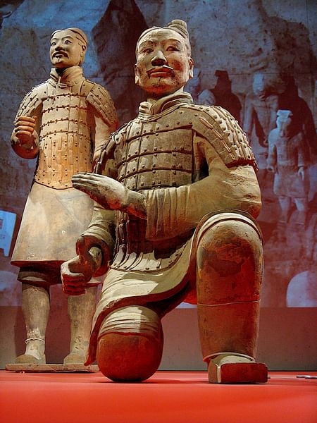Chinese Terracotta Warrior (by glancs, CC BY)