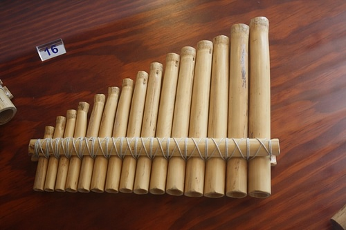 Panpipes (by Mark Cartwright, CC BY-NC-SA)