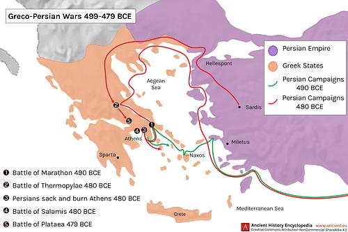 Greco-Persian Wars (Illustration) - Ancient History Encyclopedia