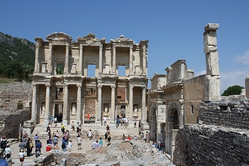 Celsus Library, Ephesos (by )