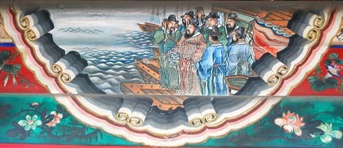 Cao Cao, Battle of Red Cliffs (by Shizhao, CC BY-SA)