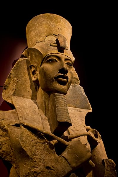 Colossal Statue of Amenhotep IV