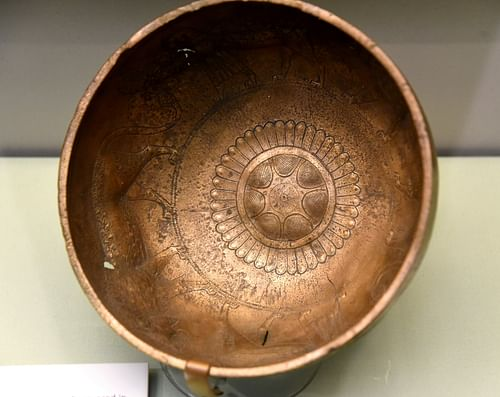 Phoenician Bronze Bowl from Nimrud