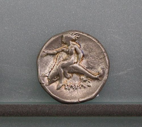 Silver Stater of Tarentum (by Mark Cartwright, CC BY-NC-SA)