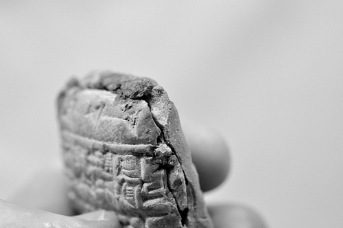 Illegally Excavated Mesopotamian Clay Tablet [11]