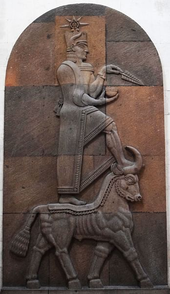 Bas Relief of Teisheba (by )