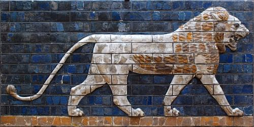 Lion of Babylon (by )