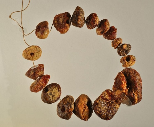 Archaic Greek Amber Necklace