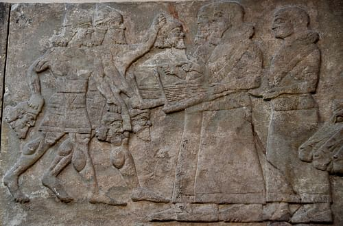 Decapitated Heads of Assyrian Enemies
