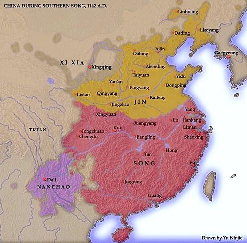 Cartina Climatica Cina.La Dinastia Song Enciclopedia Della Storia Del Mondo