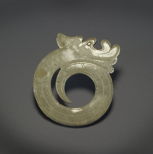 Han Dynasty Jade Dragon