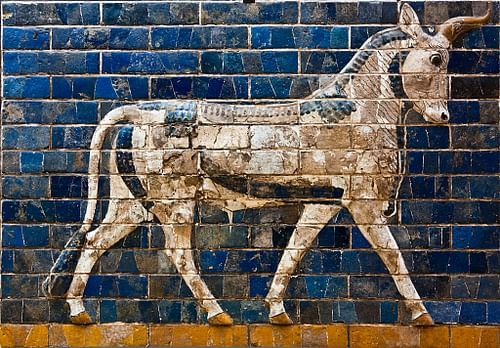 Aurochs from Ishtar gate