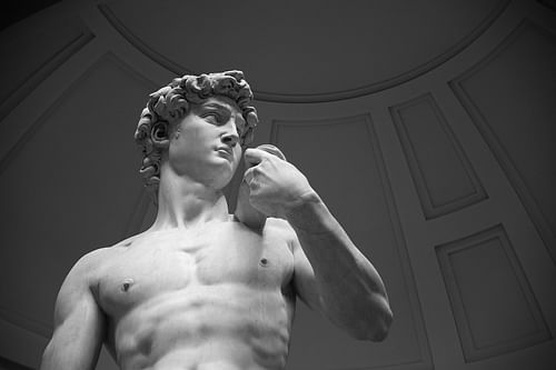 David by Michelangelo (by Joe Hunt)