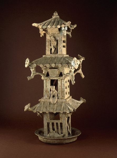 Han Watchtower Model (by The British Museum, Copyright)