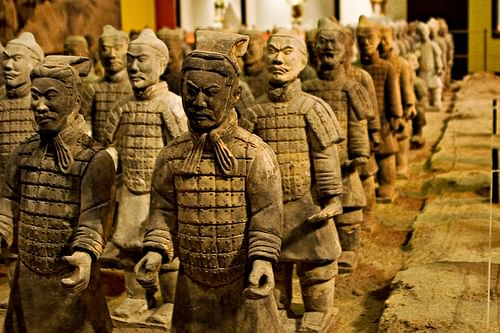 The Terracotta Army, Shaanxi Province (by Shawn Kinkade, CC BY-NC-SA)