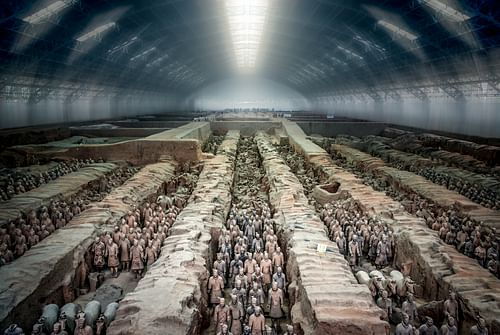The Terracotta Army Panorama