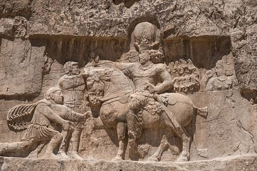 Valerian Defeated by Shapur I
