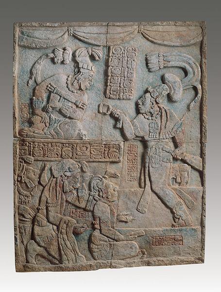Presentation of Captives to a Maya Ruler