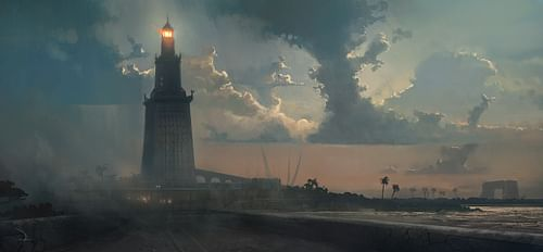Lighthouse of Alexandria [Artist's Impression] (by Ubisoft Entertainment SA)