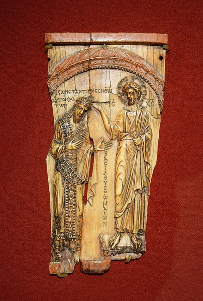 Constantine VII & Christ (by James Blake Wiener, CC BY-NC-SA)