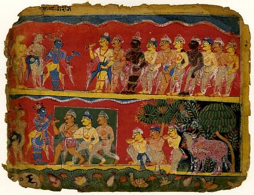How did the caste system affect ancient indian society