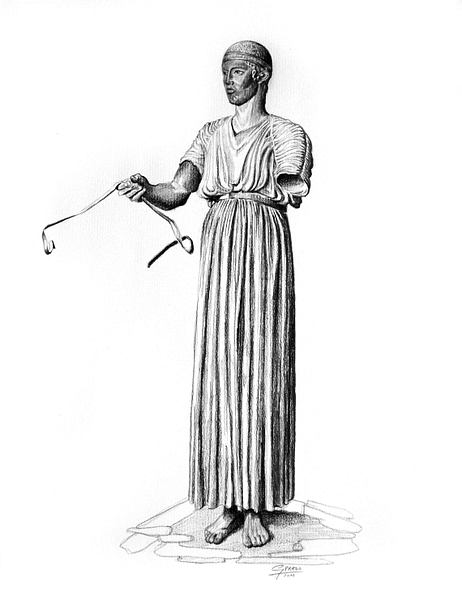 Charioteer of Delphi [Illustration]
