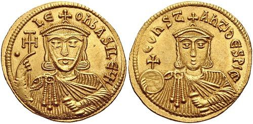 Leo V the Armenian (by Classical Numismatic Group, Inc.)
