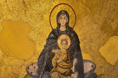 The Virgin and Child Mosaic, Hagia Sophia (by Hagia Sophia Research Team, CC BY-NC-SA)