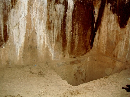 Burial Chamber, Rock-Cut Tombs of Qizqapan