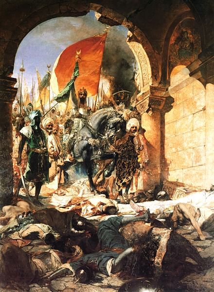 Mehmed II Conquers Constantinople