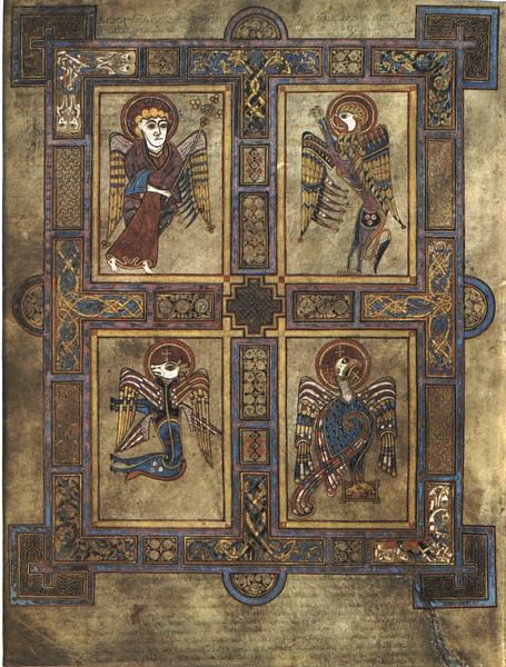 Book of Kells, Folio 27 (by Larry Koester, CC BY)