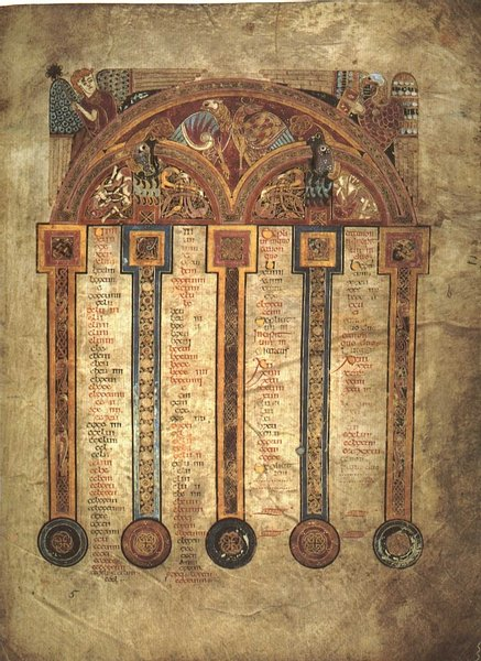 Book of Kells, Folio 5