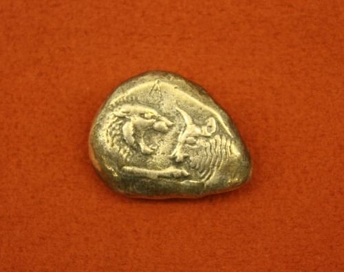Lydian Silver Stater (by Mark Cartwright, CC BY-NC-SA)