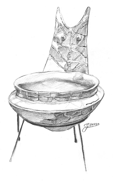 Ritual Ceramic Wash Basin (Thapsos Culture, Sicily)
