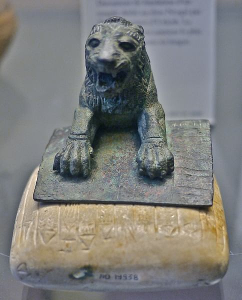 Hurrian Lion, Urkesh (by TKLouvre, CC BY-SA)