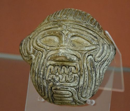 Face of the Demon Humbaba