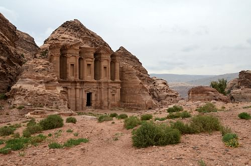 The Monastery in Petra (by Carole Raddato)