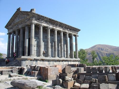 Temple of Garni (by Kim Davies, CC BY-ND)