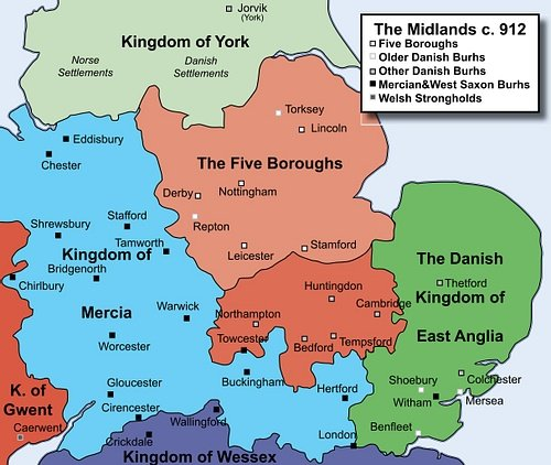 English Midlands c. 912 CE