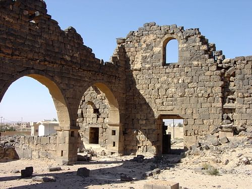 West Church, Umm el-Jimal (Jordan) (by Michael Gunther)