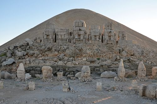 Eastern Terrace of Mount Nemrut (by Carole Raddato, CC BY-NC-SA)