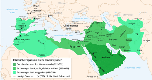 Umayyad Conquest, 7th & 8th Centuries CE