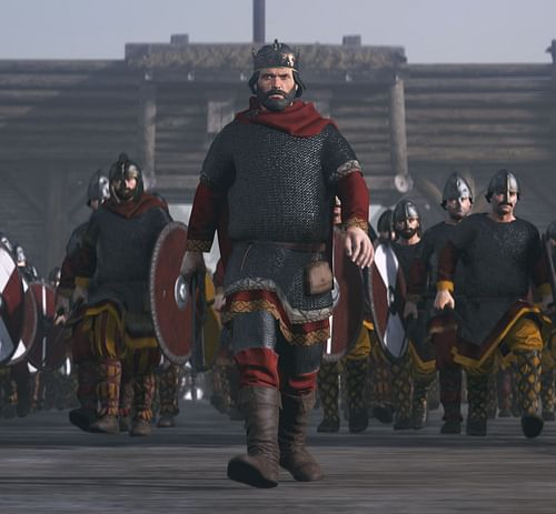 Artist's Impression of Alfred the Great (by The Creative Assembly)