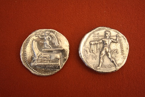 Silver Tetradrachm of Demetrius I of Macedon