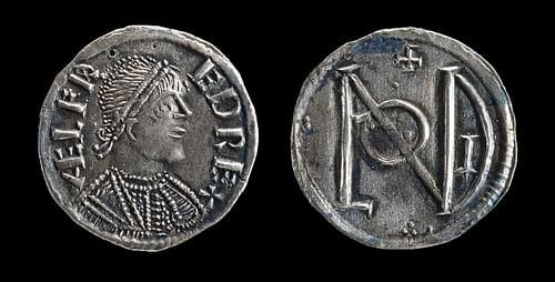 Silver Penny of Alfred the Great