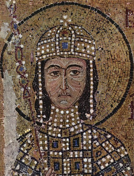 Mosaic of Alexios I Komnenos (by Unknown Artist, Public Domain)