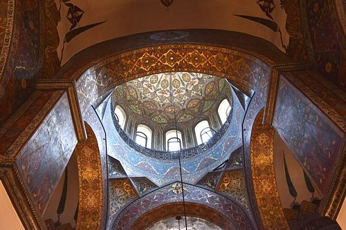 Interior Dome of Etchmiadzin Cathedral